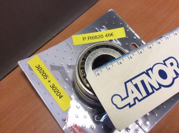 Accessoires pour Remorque spadis 750 pour transport des spa - Kit de roulement - Distrimat